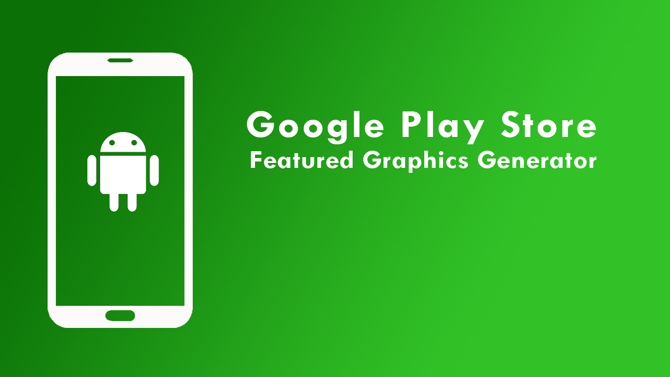 android feature graphic generator