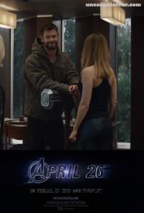 Avengers-Endgame I Like This One, Thor Captain Marvel